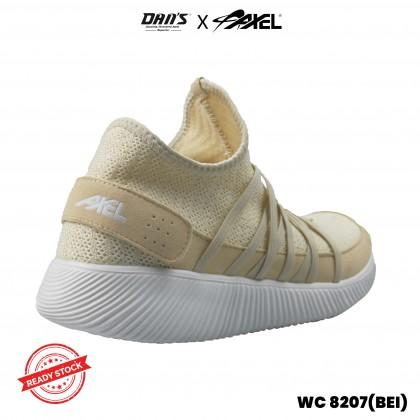 DANS x AXEL Women Lifestyle Shoes-BEI/BLK WC-8207(DD4)