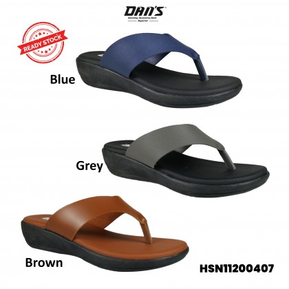 DANS Ladies Comfort Shoes- Blue/Brown/Grey HSN11200407()