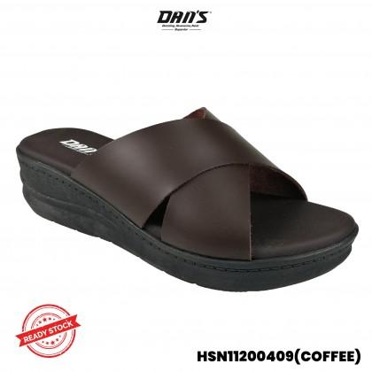 DANS Ladies Comfort Shoes- Blue/Coffee HSN11200409()