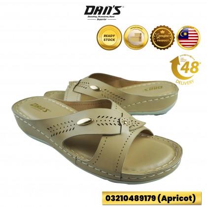 DANS Ladies Comfort Shoes - Black/Apricot 03210489179 (Q2,3,4)