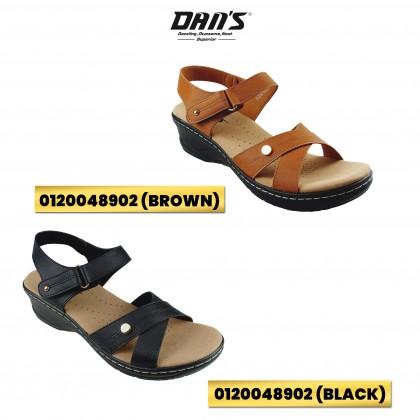 DANS Ladies Comfort Shoes - Black/Brown 0120048902 (J2+J3)