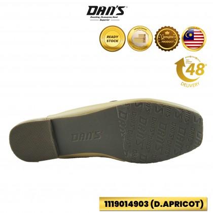 DANS Ladies Slipper Shoes - Black/DApricot 1119014903 (H3)