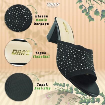 DANS Ladies Heels Shoes - Black 1119067903 (A4)