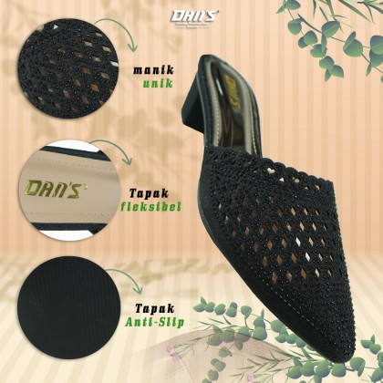DANS Ladies Heels Shoes - Black 1219067902 (S4)
