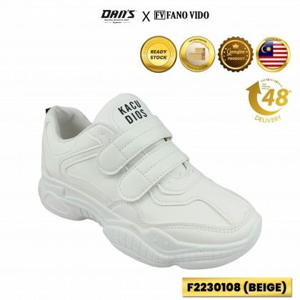DANS x FV Ladies Casual Sneakers - Beige F2230108 (T1)