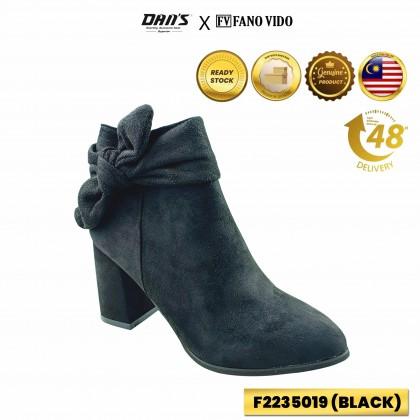 DANS x FV Ladies Boots Shoes - Black/Coffee F2235019 (C2)
