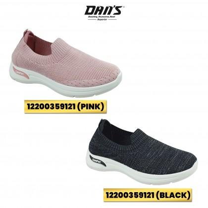 DANS Ladies Sneaker Shoes - Black/Pink 12200359121 (WH)