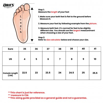DANS Ladies Sneaker Shoes - Black/Purple 12200359123 (LP)