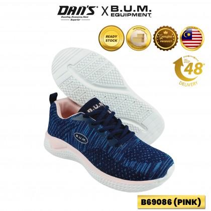 BUM Equipment Ladies Sport Shoes Sneakers - Pink/Blue/Purple B69086/B69087/B69088 (WH)
